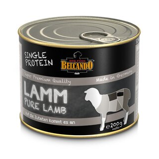 BELCANDO® SINGLE PROTEIN Lamm 200 g Dose
