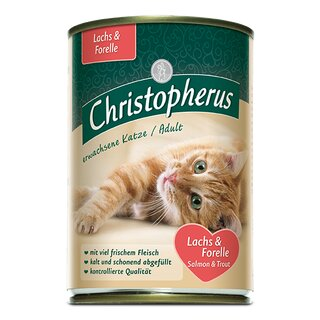 Christopherus Adult Lachs & Forelle 400 g Dose