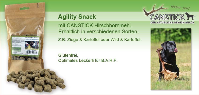 CANSTICK Agility Snack