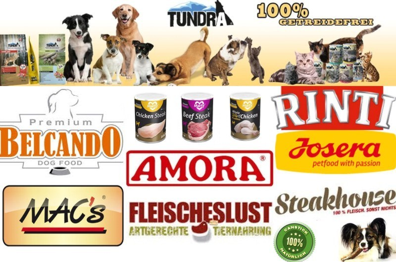 Unsere Hundefutter Marken