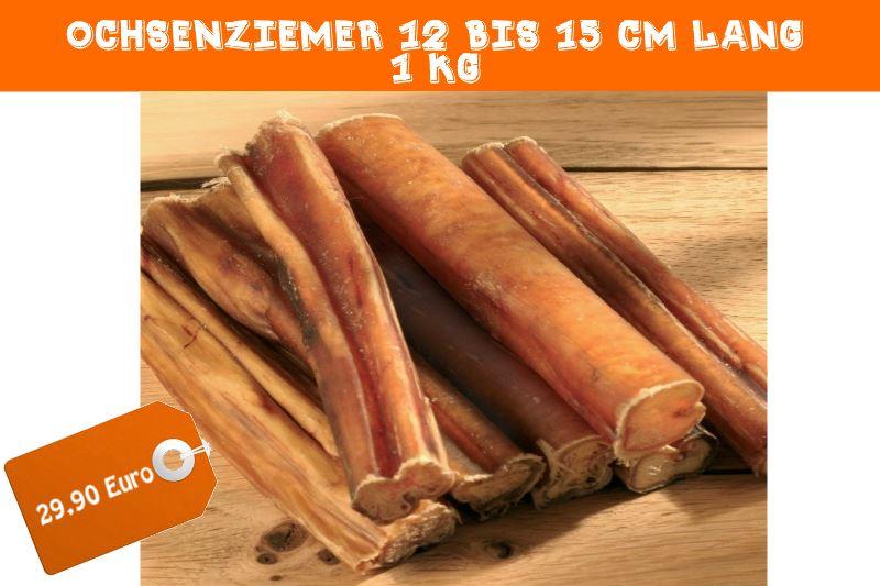 Ochsenziemer 1 kg für 29,90 Euro